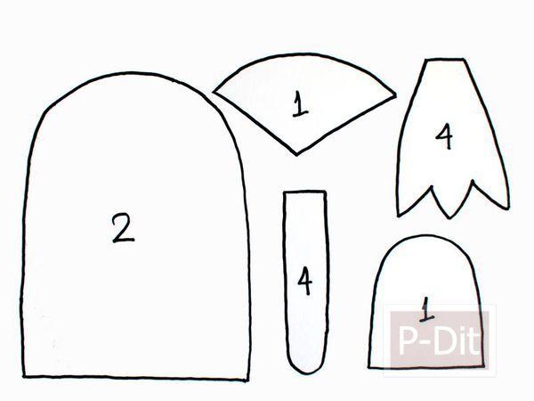 รูป 5 สอนทำตุ๊กตา จากเศษผ้า