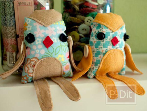 รูป 7 สอนทำตุ๊กตา จากเศษผ้า
