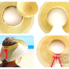 ทำหมวกใส่เที่ยวทะเล สวยๆ