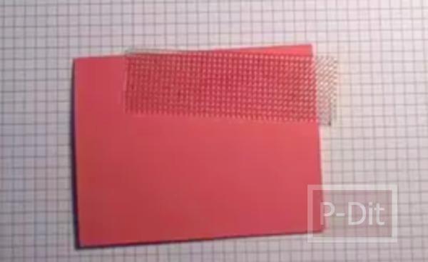 รูป 2 ไอเดียทำการ์ดวันแม่ สีชมพู-ทอง