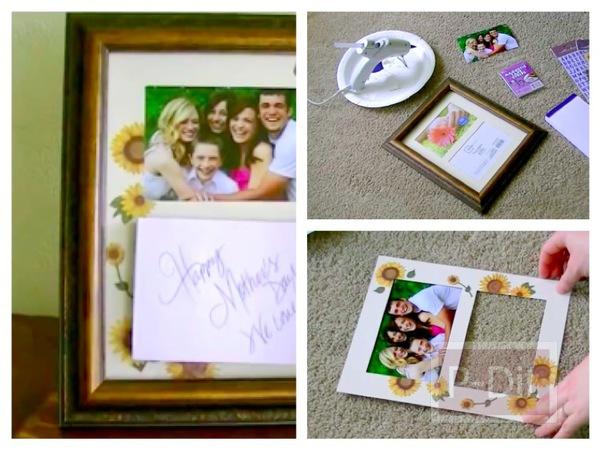 รูป 1 ทำของขวัญวันแม่ ทำกรอบรูปสวยๆให้แม่