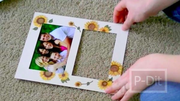 รูป 6 ทำของขวัญวันแม่ ทำกรอบรูปสวยๆให้แม่
