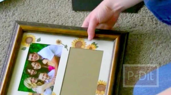 รูป 7 ทำของขวัญวันแม่ ทำกรอบรูปสวยๆให้แม่