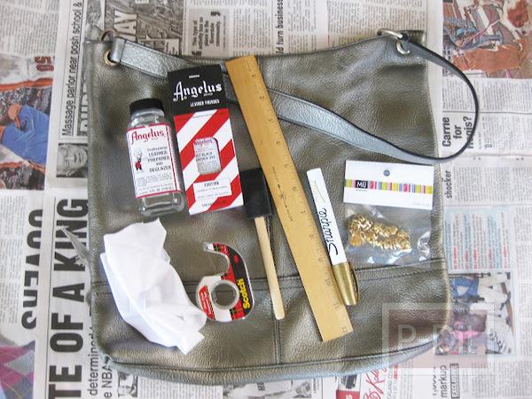 รูป 2 เปลี่ยนกระเป๋าเก่า ให้เป็นกระเป๋าสีใหม่