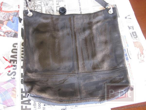 รูป 6 เปลี่ยนกระเป๋าเก่า ให้เป็นกระเป๋าสีใหม่