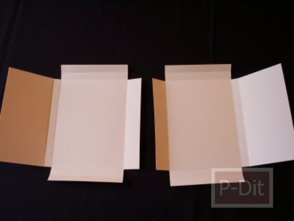 รูป 6 ทำกล่องของขวัญ สำหรับใส่หนังสือ