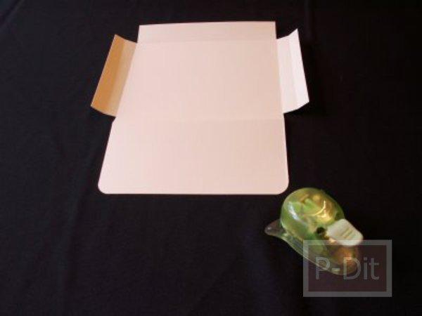 รูป 7 ทำกล่องของขวัญ สำหรับใส่หนังสือ