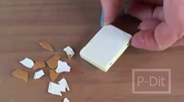 รูป 6 ทำสร้อยข้อมือ จากเปลือกไข่
