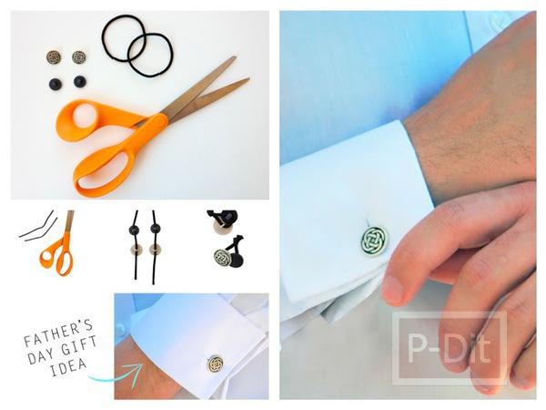 ทำกระดุมติดแขนเสื้อ สำหรับเสื้อเชิ๊ตแขนยาว