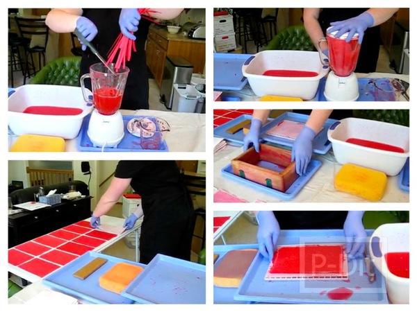 สอนทำกระดาษแผ่นใหม่ จากเศษกระดาษเหลือใช้