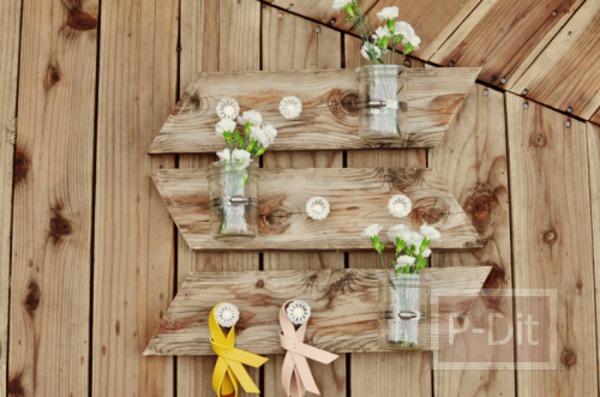 รูป 2 ทำที่แขวนดอกไม้ ตกแต่ง ประดับบ้าน