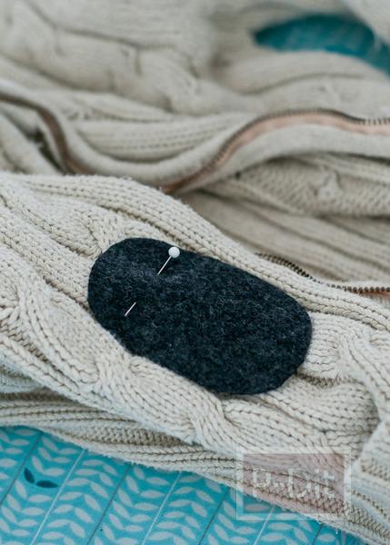 รูป 3 ปะ ซ่อม เสื้อ กางเกงที่ขาด