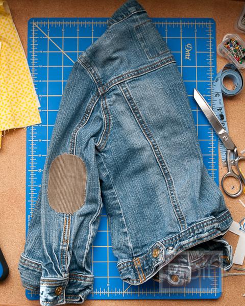 รูป 4 ปะ ซ่อม เสื้อ กางเกงที่ขาด