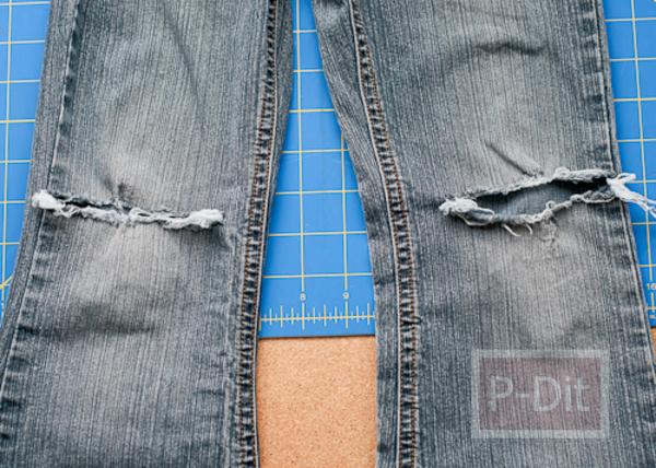 รูป 7 ปะ ซ่อม เสื้อ กางเกงที่ขาด