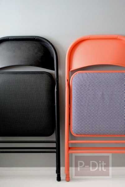 รูป 3 เปลี่ยนเก้าอี้ตัวเก่า ให้เป็นเก้าอี้ใหม่