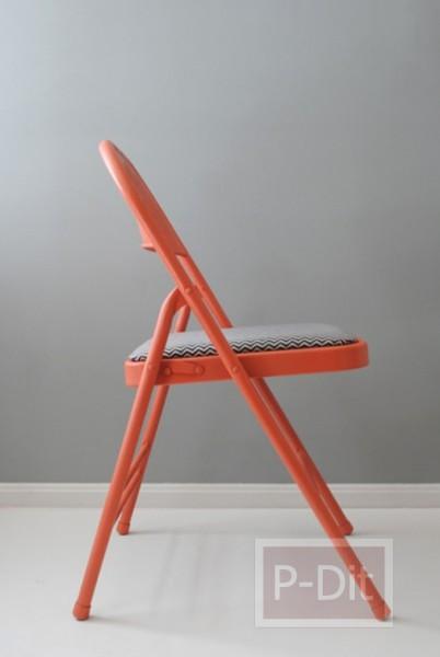 รูป 5 เปลี่ยนเก้าอี้ตัวเก่า ให้เป็นเก้าอี้ใหม่