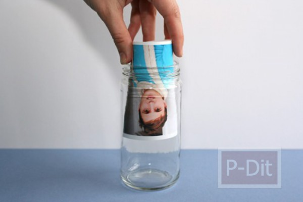 รูป 5 ทำที่ใส่รูป จากขวดแก้ว