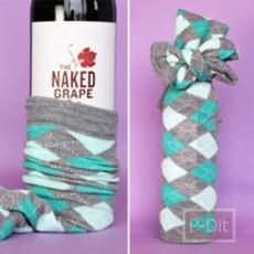 ไอเดียห่อขวดไวน์ เป็นของขวัญ