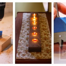 ทำเทียนไขประดับบ้าน