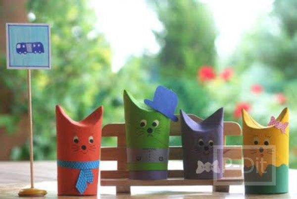 ประดิษฐ์ของเล่น จากแกนกระดาษทิชชู