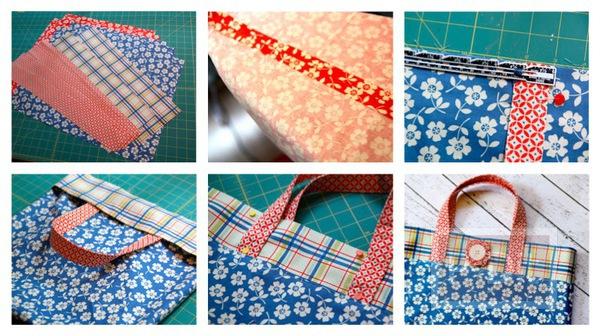 รูป 1 สอนทำถุงผ้า ลายสวยๆ