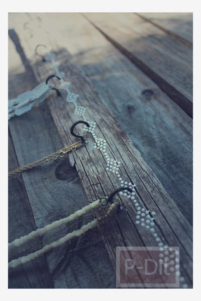 รูป 3 สอนทำที่แขนเครื่องประดับ จากกิ่งไม้แห้ง