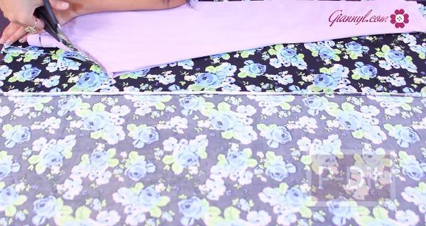รูป 4 ตัดกางเกงเลคกิ้ง ลายสวยๆด้วยตัวเอง