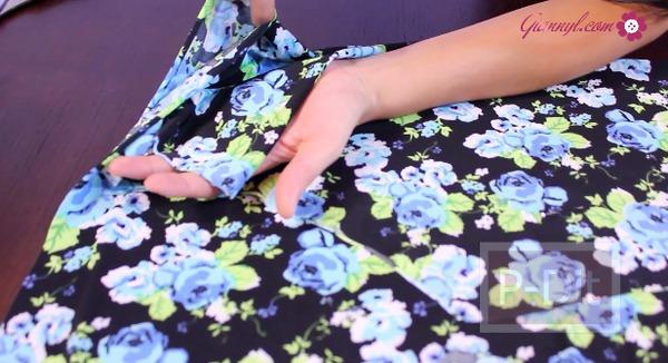 รูป 6 ตัดกางเกงเลคกิ้ง ลายสวยๆด้วยตัวเอง