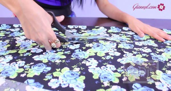 รูป 7 ตัดกางเกงเลคกิ้ง ลายสวยๆด้วยตัวเอง