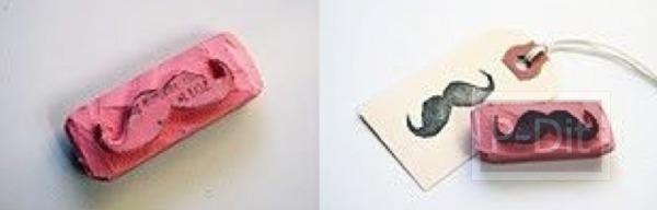 รูป 5 สอนทำที่ปั้ม จากยางลบก้อนเก่า