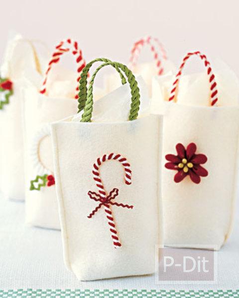 รูป 4 ถุงของขวัญสวยๆ สำหรับมอบวันปีใหม่