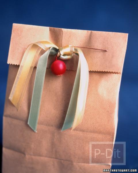รูป 6 ถุงของขวัญสวยๆ สำหรับมอบวันปีใหม่