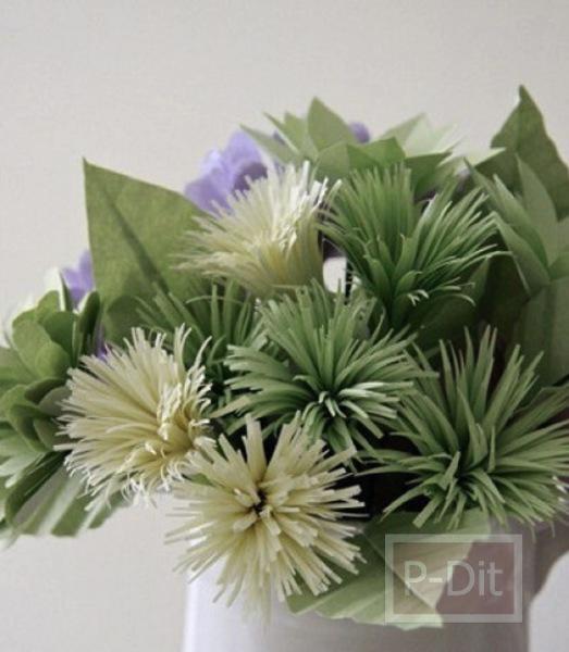 รูป 3 ไอเดียทำดอกไม้สวยๆ จากกระดาษ