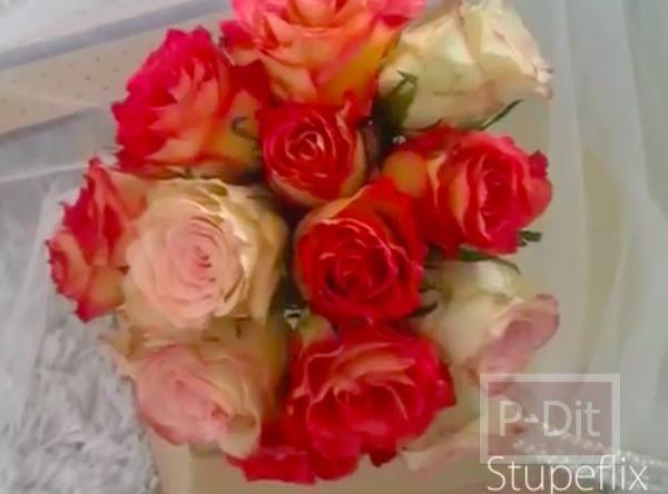 รูป 2 ไอเดียทำช่อดอกไม้ วันแต่งงาน