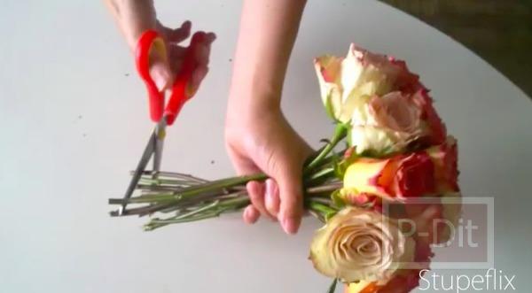 รูป 4 ไอเดียทำช่อดอกไม้ วันแต่งงาน