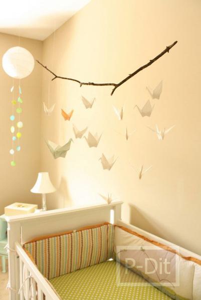 รูป 4 โมบายน่ารักๆ ประดับห้องนอนเด็ก