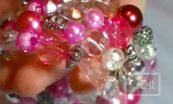 รูป 2 กำไลข้อมือสวยๆ ทำจากลูกปัดคริสตัล
