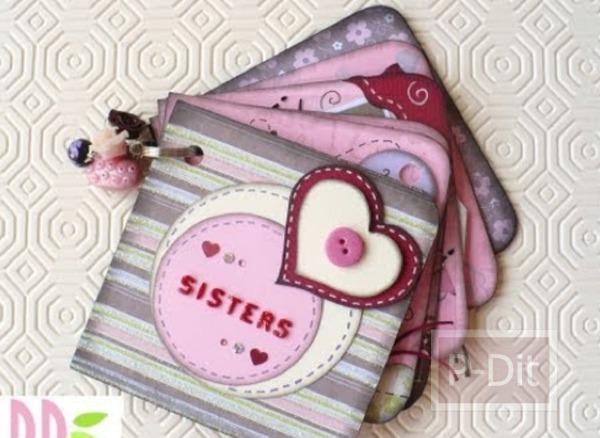 รูป 2 ทำอัลบั้มรูปเล็กๆ ส่งความรักให้พี่สาว