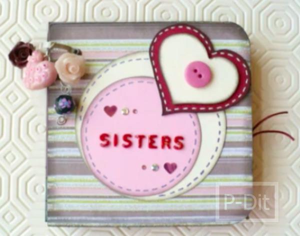 รูป 3 ทำอัลบั้มรูปเล็กๆ ส่งความรักให้พี่สาว