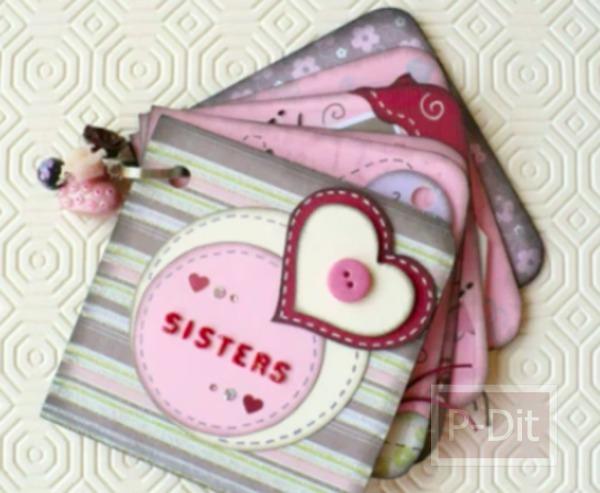 รูป 4 ทำอัลบั้มรูปเล็กๆ ส่งความรักให้พี่สาว
