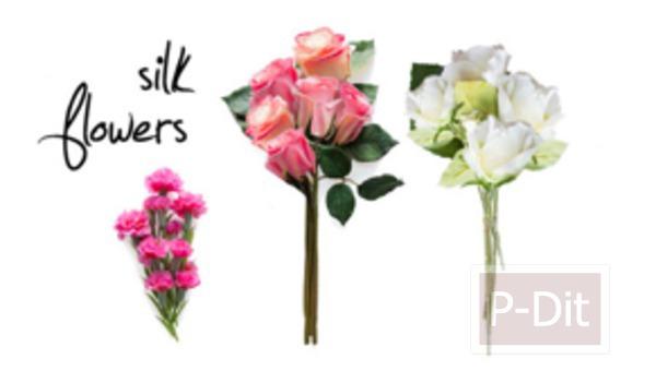 รูป 2 สอนทำมงกุฎดอกกุหลาบ สวยๆ