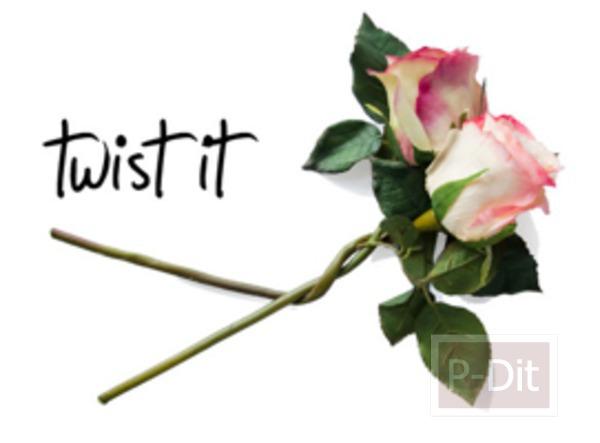 รูป 3 สอนทำมงกุฎดอกกุหลาบ สวยๆ