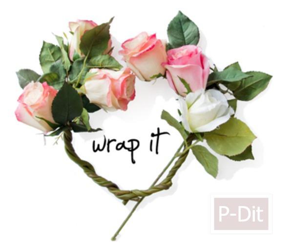 รูป 5 สอนทำมงกุฎดอกกุหลาบ สวยๆ