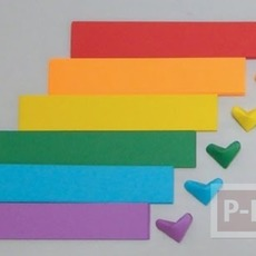 วิธีพับรูปหัวใจกระดาษ ส่งความรัก