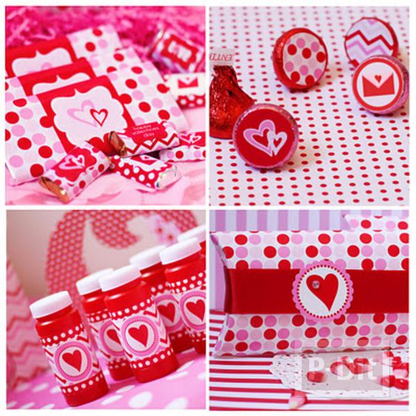 รูป 3 การ์ดวาเลนไทน์ ส่งรัก พร้อมช็อคโกแลต