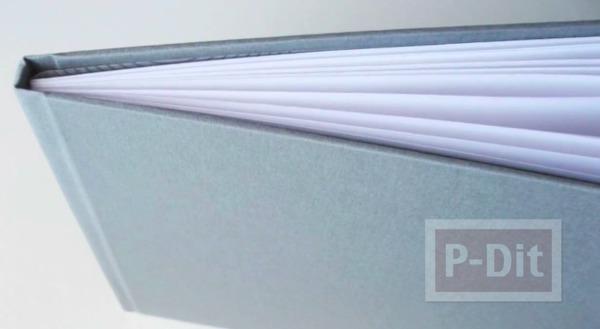 รูป 2 ห่อปกหนังสือ ด้วยผ้าสีสวย