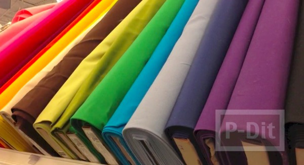 รูป 3 ห่อปกหนังสือ ด้วยผ้าสีสวย