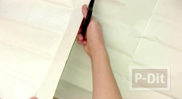 รูป 7 ห่อปกหนังสือ ด้วยผ้าสีสวย