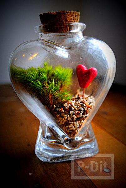 รูป 3 ไอเดียของขวัญ หัวใจ ใส่ขวดโหล