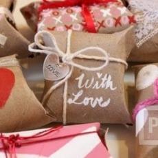 ทำกล่องใส่ของขวัญ จากแกนกระดาษทิชชู